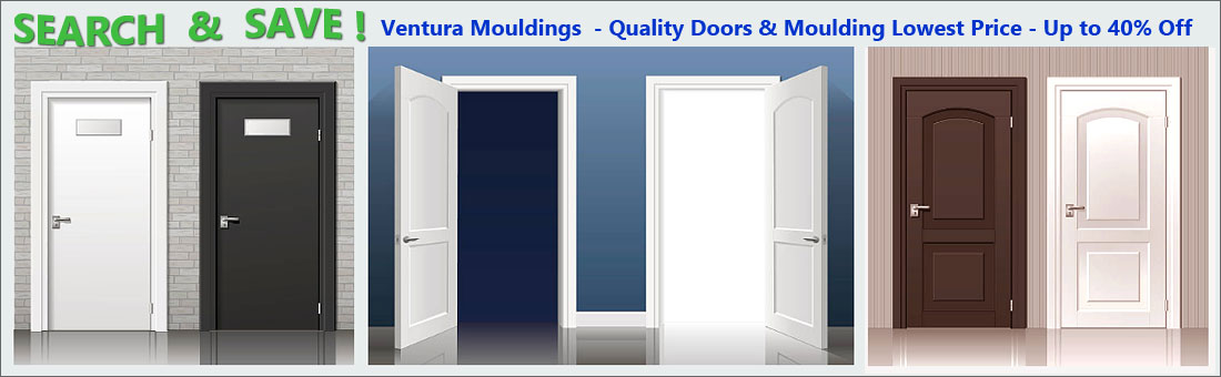 Quality door and moulding for home improvement - at Ventura Moulding